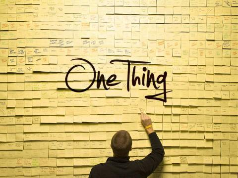 Your One Thing - Podcast